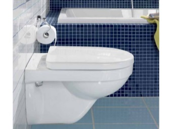 installation hinged - rimless toilet