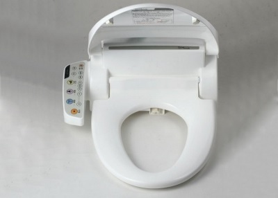Electronic cover bidet toilet on the standard model