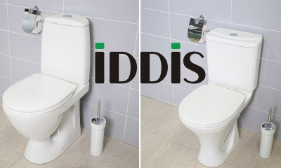 Toilet bowls from the Russian company IDDIS