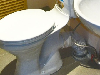 Lower supply of water in the toilet tank