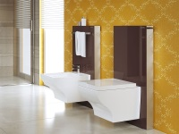 WC with installation system