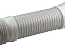 Long corrugated pipe