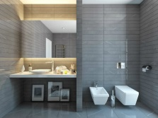 Bidet in bathroom design