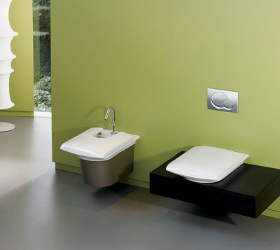 bidet design example in the interior