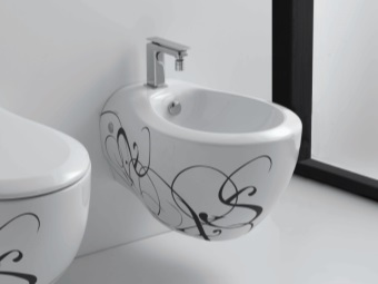 Built-in bidet in the bathroom