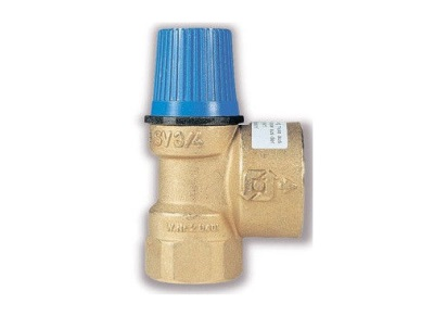 Safety valve for pressure relief