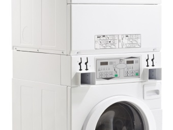 Washing machine with dryer