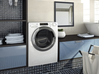 narrow washing machine with front loading