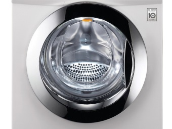 Washing machine with front loading
