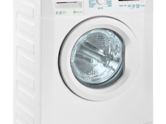 Washing machine with front loading type