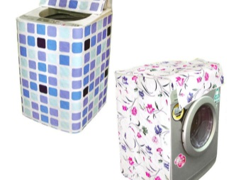 covers different types of washing machines