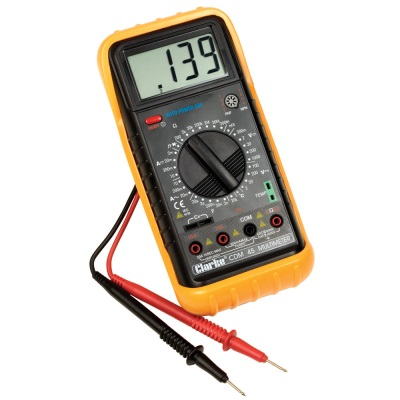 multimeter to check the generator