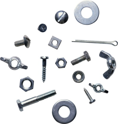 various types of fasteners