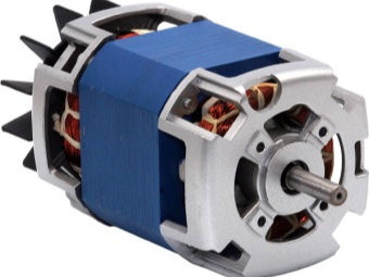 commutator motor of the washing machine