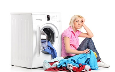 problems in the washing machine
