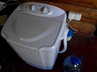 Vaskemaskin uten vann