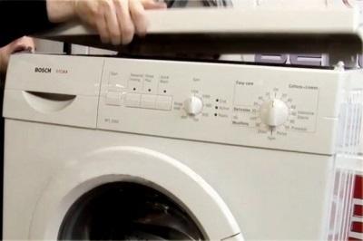 C mo quitar la tapa superior de la lavadora indesit lg - Quitar rayones coche facilmente ...