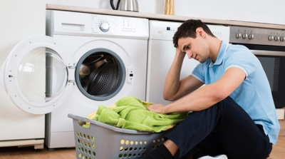 Vaske lin i vaskemaskin