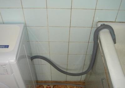 Bosch tvättmaskin tömmer inte vatten