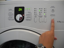 Electrolux vaskemaskin låst