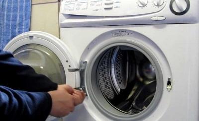 Demontere trommel vaskemaskin