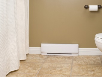 Requirements for heaters in the bathroom