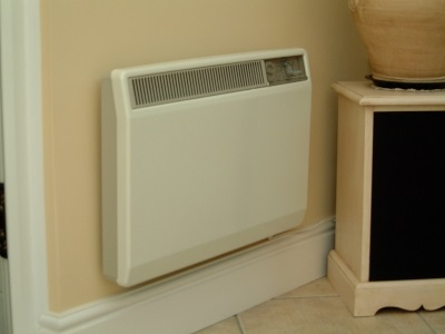 Convector heater ( Heaters ) for heating the bathroom