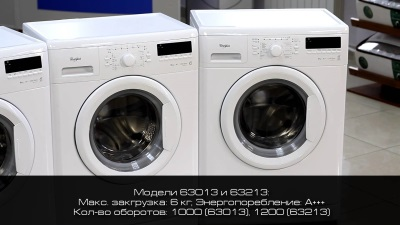 Whirlpool Washing Machines