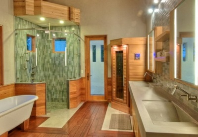 Infrared sauna for the mini- apartments