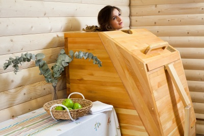 mini- sauna for home