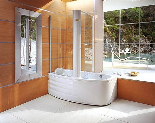 Shower -cabin , or tub