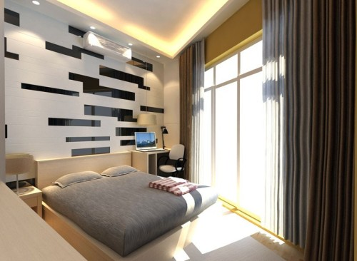 Bedroom - in - style - high-tech