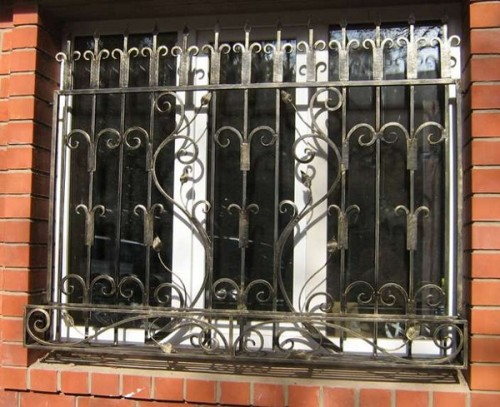 wrought - sliding - grill