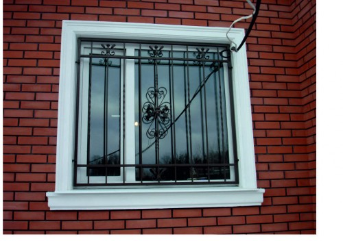 metal lattice - on - windows - 22