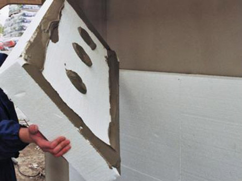 insulation - foam - house - his - hands - 2