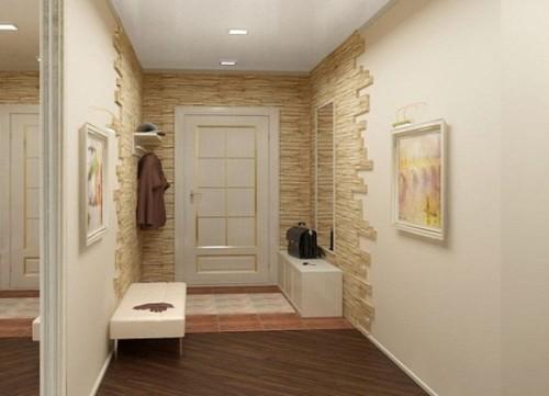 Decorare le pareti nel corridoio   build daily