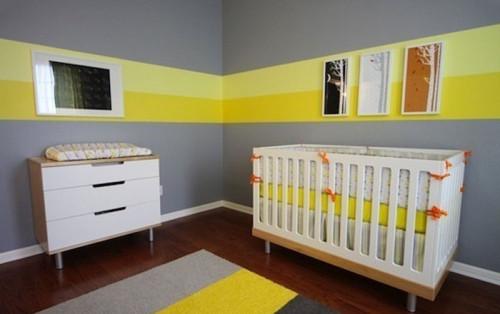 Pareti A Righe Verticali O Orizzontali : Dipingere le pareti in due ...