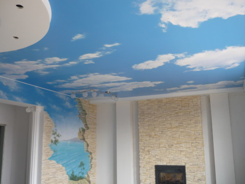 fabric ceilings