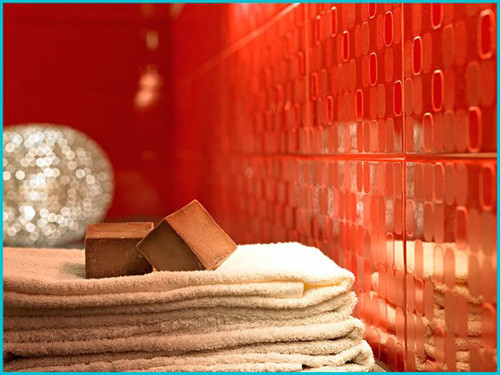 Design red - bath - room - 42-550h413