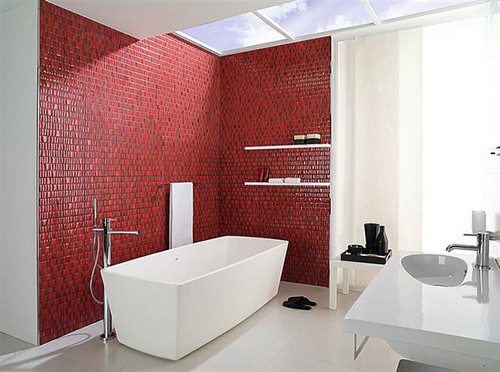 GLOSS - ed - tiles vor Tkhe - Contemporary - bathroom - bushes