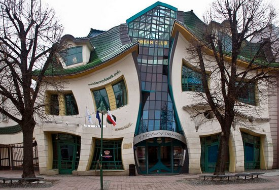 Crooked House in Poland photo