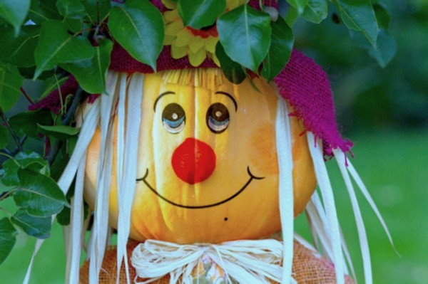 Cute scarecrow photo