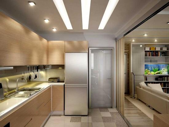 Kleine keuken 9 comfortabel ontwerp idee n build daily - Keuken voor klein gebied ...