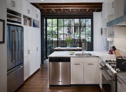 Keittiön suunnittelu erkkeri Kuva  Build Daily