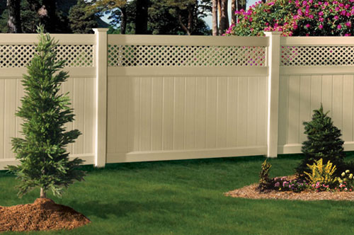 Decorative plastic fences to give