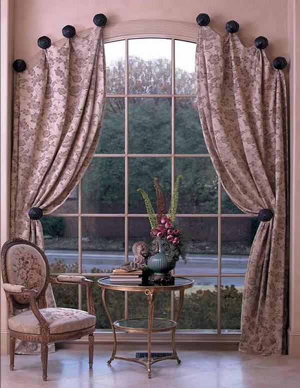Tende alle finestre ad arco foto e idee di design - Tende attaccate alle finestre ...