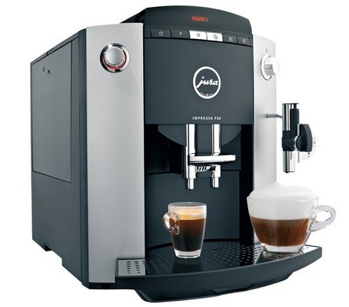 Espresso coffee bean types Jura Impressa F50 ECO