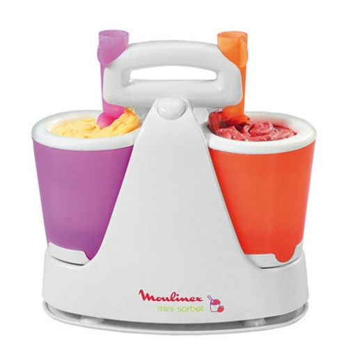 Ice cream maker Moulinex mini sorbet with cups