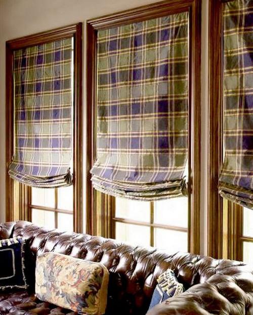 diseo de cortinas para casas de campo