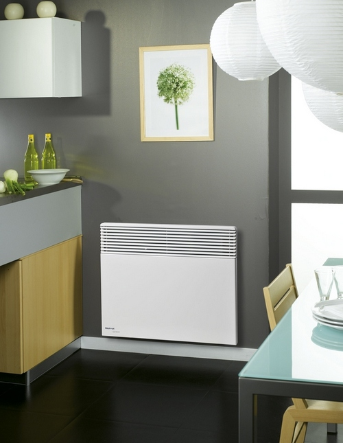 heaters , electric wall heating